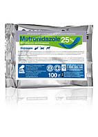 Метронидазол - 25% порошок  уп. 100 г