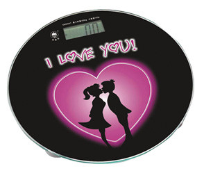 Напольные весы до 150 кг I Love you