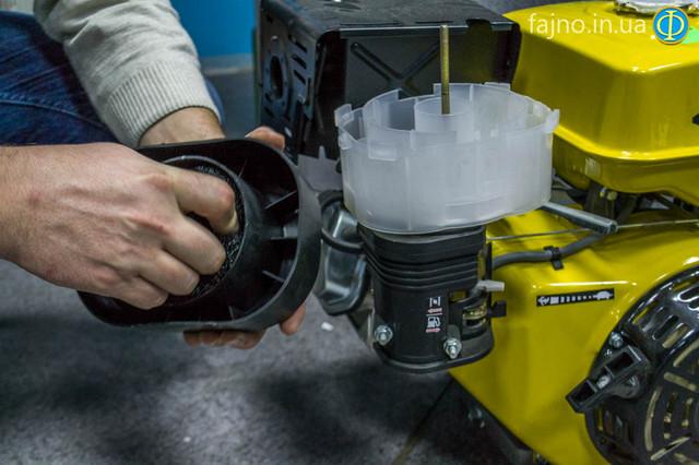 двигатель Кентавр ДВС 390БЭ фото масляній фильтр