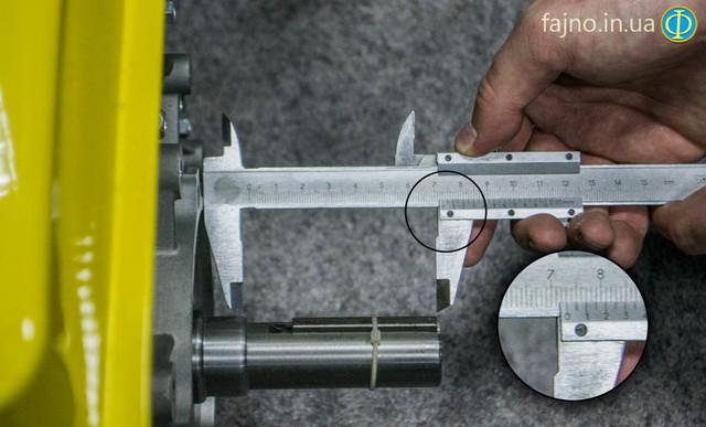двигатель Кентавр ДВС 390БЭ фото длина вала