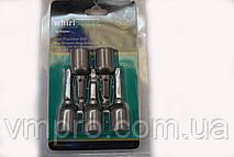 Биты для черепицы,кровельные WhirlPower 8 мм L-65 мм 5 штук/набор (блистер)