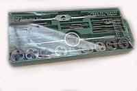 Набор метрический плашек и метчиков, 20 предметов