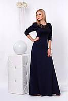 Женское платье в пол модного ыасона