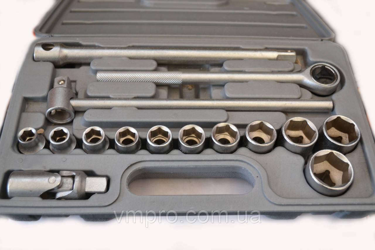 Набір торцевих головок Cr-V у валізі арт. 2117