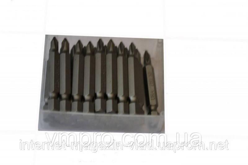 Биты PH2 50 мм/30 штук , пластиковый бокс
