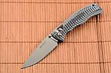 Складной нож из рукоятью Микарта + клипса для ремня, мощный и практичный, фото 3