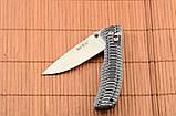 Складной нож из рукоятью Микарта + клипса для ремня, мощный и практичный, фото 5