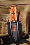 Нож Gerber Bear Grylls Paracord, отличный нож выживальщика + чехол, фото 2