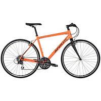 """Велосипед 28"""" Apollo EXCEED 20 HI VIZ рама- L 2017 Gloss Orange/Reflective Black"""