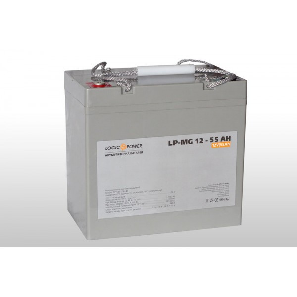 Аккумулятор мультигелевый LP-MG 12 - 55 AH