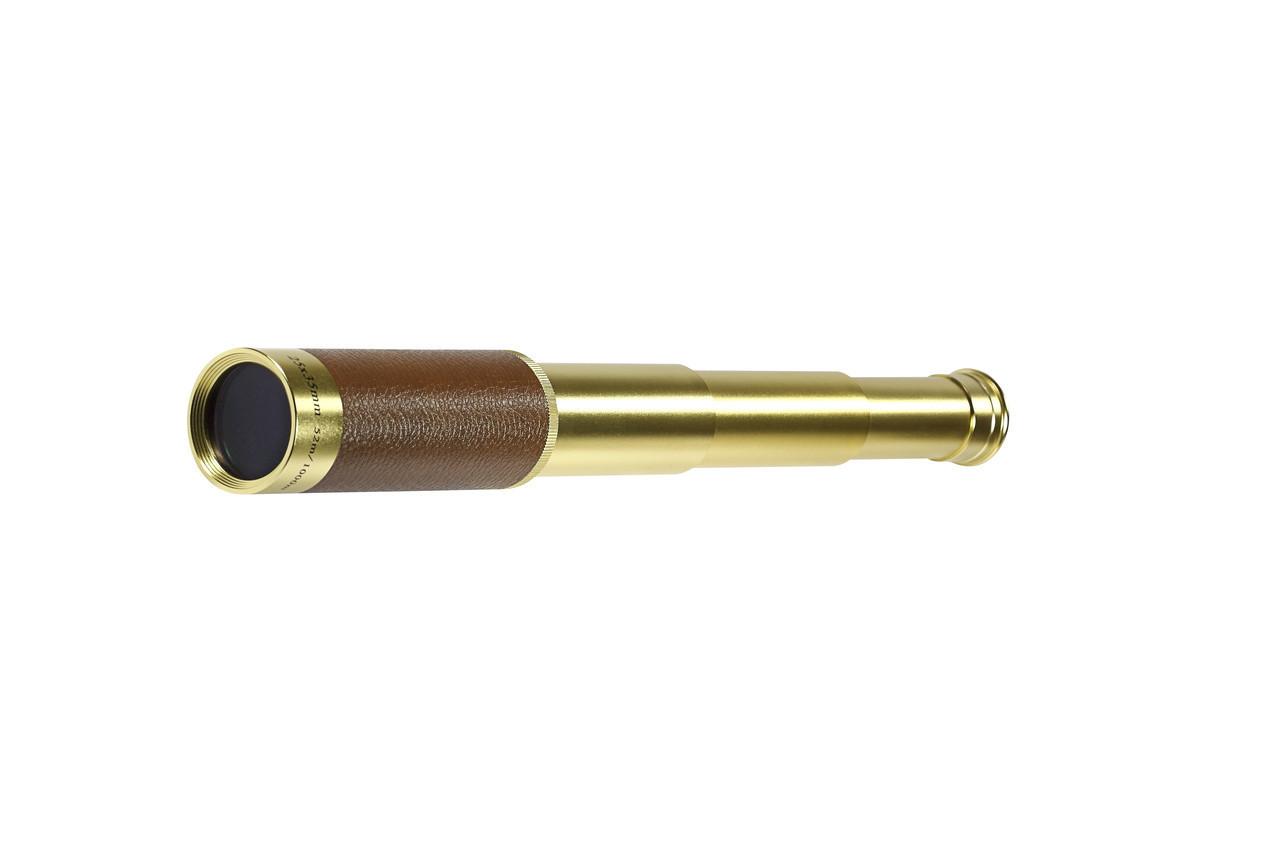Труба подзорная для наблюдений за природой и спортом 25х35 mono+ футляр