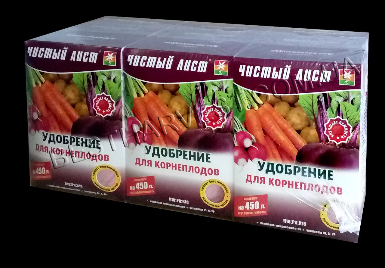 Удобрение для корнеплодов 300 г «Чистый лист», оригинал
