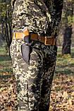 Нож для туризма Охотник за добычей (Ручная работа), кожаный чехол в комплекте, фото 3