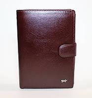 Элитное мужское портмоне из натуральной кожи Braun Buffel коричневого цвета