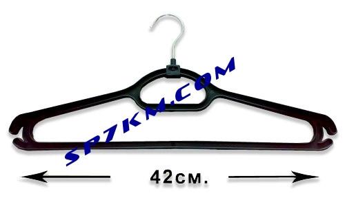Плечики - вешалка с железным крючком.