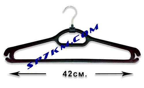 Плечики - вешалка с железным крючком., фото 2