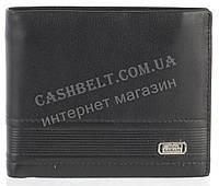 Прочный элитный стильный кожаный мужской кошелек из мягкой кожи NINO CAMANI art. NC86-1077-1A черный