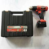 Шуруповерт акумуляторний Edon CF1805, фото 4
