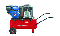 Компрессор с ременным приводом с бензиновым приводом Remeza  СБ4/С-100.АВ858-SPE390R(Е)