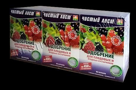 Удобрение для плодово-ягодных кустарников 300 г «Чистый лист», оригинал, фото 2