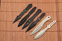 Набор метательных ножей 6 штук + чехол