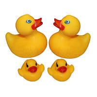 Набор резиновых игрушек в ванну (4 шт)