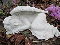 Статуэтка Спящий ангелочек бетон 30 см