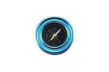 Отличный магнитный туристический компас в синем цвете