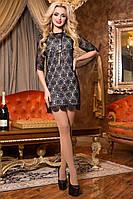 Шикарное Мини Платье из Итальянского Гипюра р. S M L