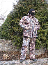 Костюм зимовий для полювання та риболовлі, утеплений і зручний