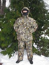 Зимовий костюм для риболовлі, температура комфорту - 30с