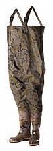 Рыбацкий полукомбинезон  ПСКОВ, оригинал, выполнен из качественного ПВХ, камуфляж