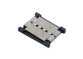 Коннектор SMD5050 9х16х2мм 4pin