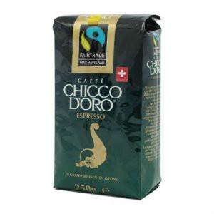 Кофе зерновой Chicco D'oro Espresso Max Havelaar 250г
