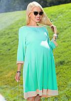 Платье для мамочки из костюмной ткани различных расцветок.  Юбочка-солнце.