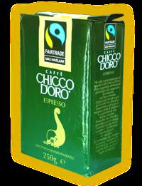 Кава мелена Chicco d'oro Espresso Max Havelaar 250г