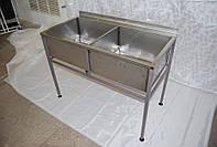 Ванна моечная сварная 1150x600x850(300)