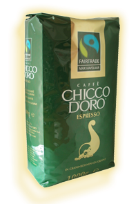 Кофе в зёрнах Chicco D'oro Espresso Max Havelaar 1000г