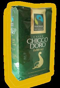 Кофе зерновой Chicco D'oro Espresso Max Havelaar 1000г