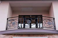 Кованые ограждения для балконов