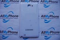 Задняя панель корпуса Samsung Galaxy Note N7000 Белая