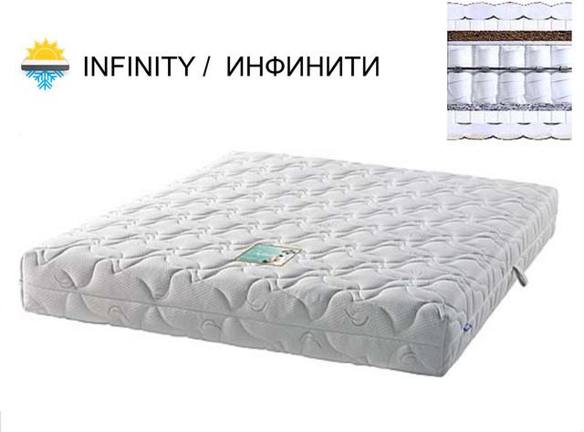 Матрас Инфинити (Infinity) пружинный блок Pocket Spring зима-лето