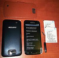 "Samsung Galaxy W100 Android 4 (2 sim, сим карты) 5,3"" экран + чехол, стилус в подарок!"