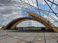 Склады строительство тент металл конструкции Харьков