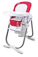 Стульчик для кормления Wonderkids Oscar (красный), современный детский стульчик для кормления
