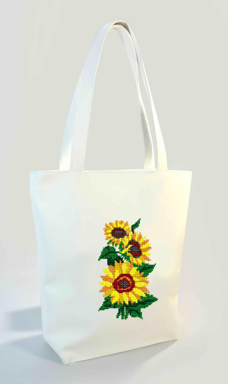"""Женская сумка """"Подсолнухи"""" Б317 цвет на выбор"""