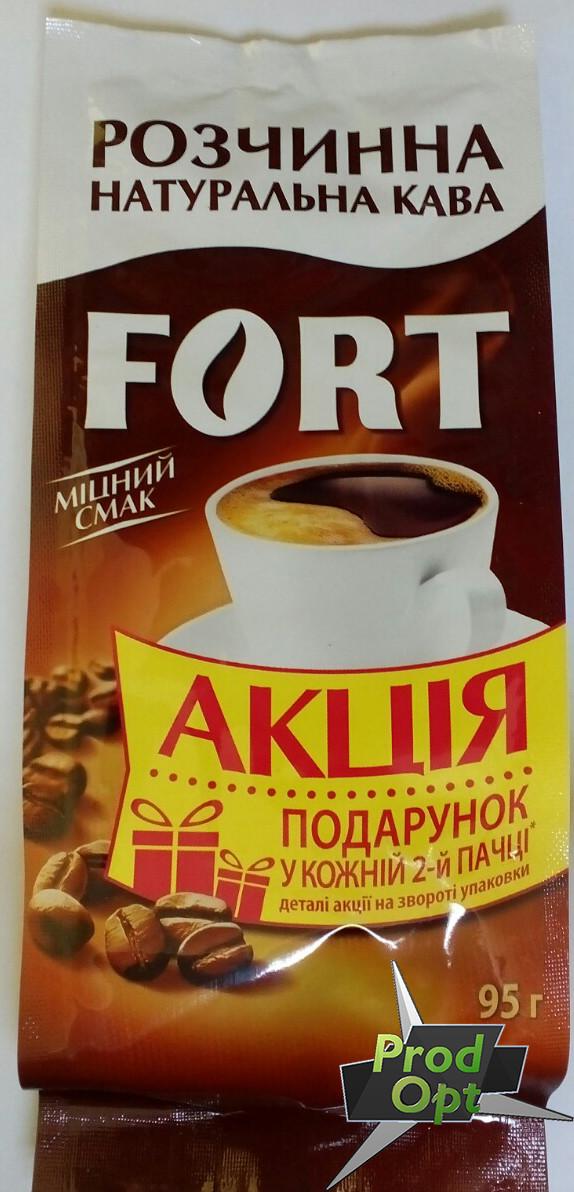 Кава розчинна гранульована Еліт Форт 95 г