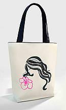 """Женская сумка """" Девушка с лилией """" Б353 цвет на выбор"""