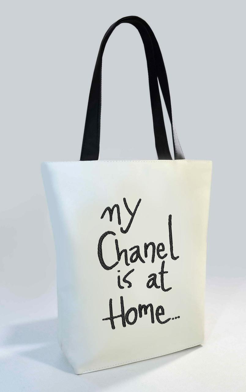 """Женская сумка """"My Chanel is at Home"""" Б340 цвет на выбор"""