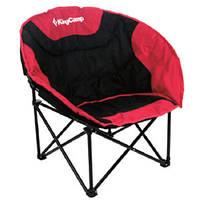 Кресло складное с анатомическим сидением KingCamp Moon Leisure Chair  KC3816 (Красный)